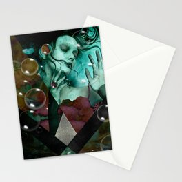"""The witch of the water forest"" Stationery Cards"