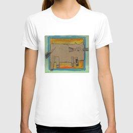 Cardboard cat T-shirt