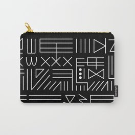 Line Code Carry-All Pouch