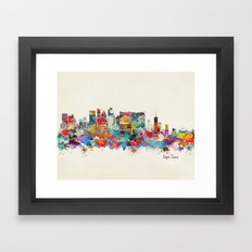 Cape Town South Africa Framed Art Print