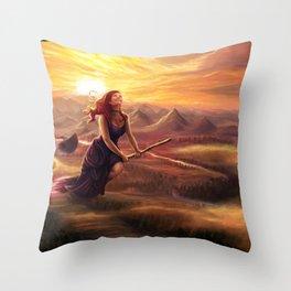 Free Witch Throw Pillow