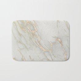 Marble Love Bronze Metallic Bath Mat