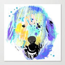 Wilson the Waterdog || Part 1 Canvas Print