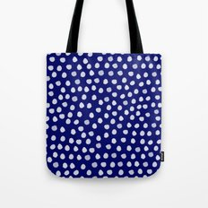 The Lady of Shalott- Navy Tote Bag