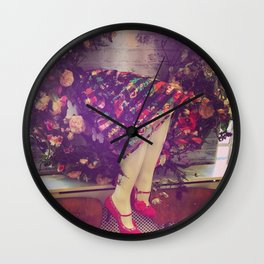 Somewhere in Notting Hill,  someone forgot their legs... Wall Clock