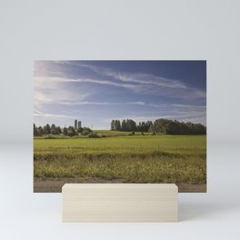 Countryside, on our way to beautiful Gaspésie Mini Art Print