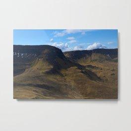 The Trotternish Ridge Metal Print