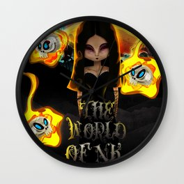 The World Of NK Wall Clock