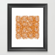 Trompe-l'œil - Starfruit vs. Autumn Framed Art Print