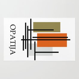 Glory to Yugoslavian design Rug