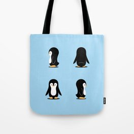 Penguin 360 Tote Bag