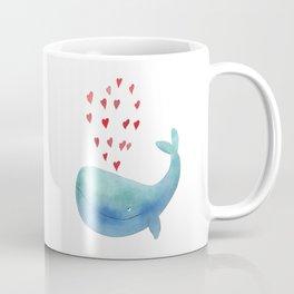 Loving whale Coffee Mug
