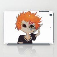 bleach iPad Cases featuring Baby ichigo Fan Art -Bleach by gunesimben