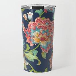 Chintz (blue) Travel Mug