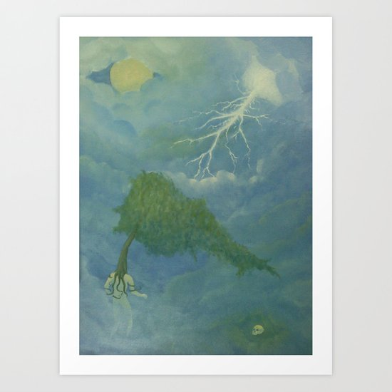 The Search Art Print