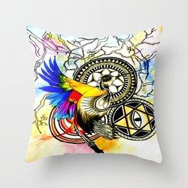 To kill a mocking bird? Throw Pillow