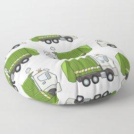 Garbage Truck Floor Pillow