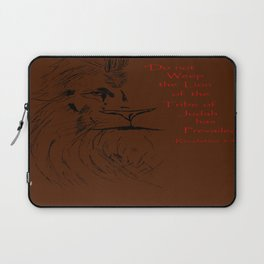 Revelation 5:5 Lion Laptop Sleeve