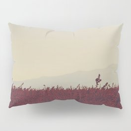 Field of Red Pillow Sham