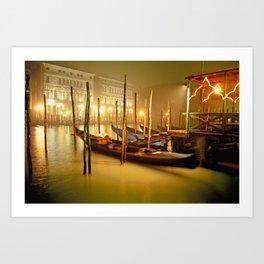 canale grande Art Print