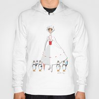 mary poppins Hoodies featuring Mary Poppins by AmadeuxArt