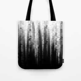 Broken Pixels Tote Bag