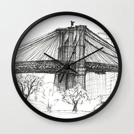 BK Bridge  Wall Clock