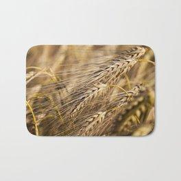farm field cereals Bath Mat