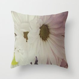 Flower print #3 Throw Pillow