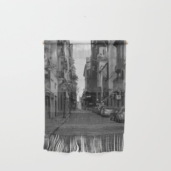 Empty Street Wall Hanging by campbelldownie   Society6