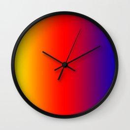 070 Fresh Saturation Gradient Wall Clock