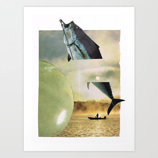 the big fish... Art Print