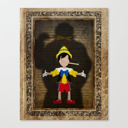 Shadow Collection, Series 2 - Puppet Canvas Print