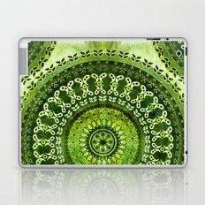 Vintage Lime Mandala Laptop & iPad Skin