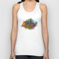 hedgehog Tank Tops featuring hedgehog by jbjart