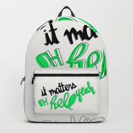 Hell Yeah Backpack