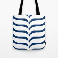kiki Tote Bags featuring Kiki by November Tigerlilly