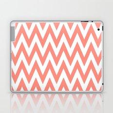 Chevronzag in Coral Laptop & iPad Skin