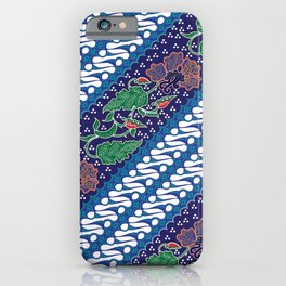 Indonesian batik art. Originated from Jacarta. iPhone Case