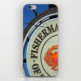Fisherman's Wharf iPhone Skin