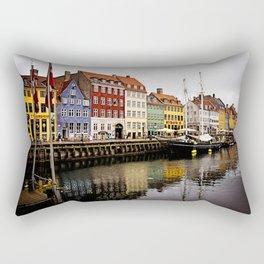 Nyhavn in Copenhagen Rectangular Pillow