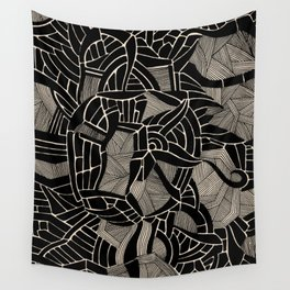 - cosmophobic cow - Wall Tapestry