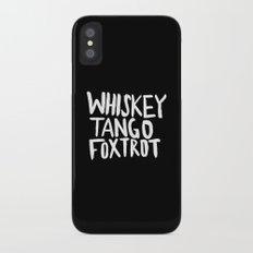 Whiskey Tango Foxtrot x WTF Slim Case iPhone X