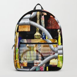 brushes in color Backpack