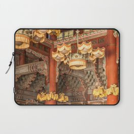 East Meets West, Changdeokgung Palace, Seoul Laptop Sleeve