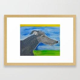 Jara Framed Art Print