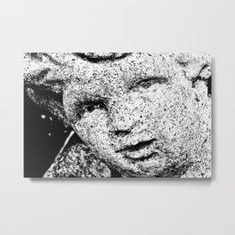 Stone face  Metal Print