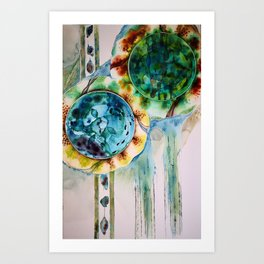 Bolle Fiori 1 Art Print