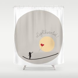Lighthearted II Shower Curtain