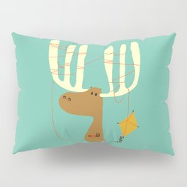 A moose ing Pillow Sham